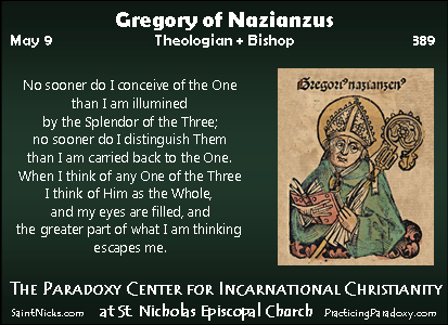 Illumination - Gregory of Nazianzus