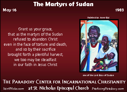 Illumination - Martyrs of Sudan