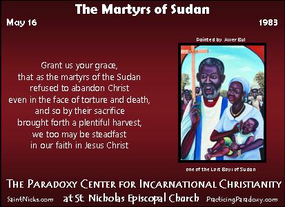 Illumination - Martyrs of Sudan
