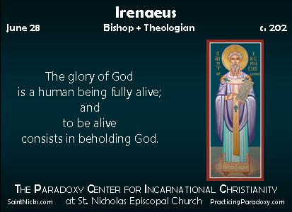 Illumination - Irenaeus