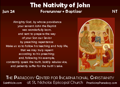 Illumination - Nativity of John