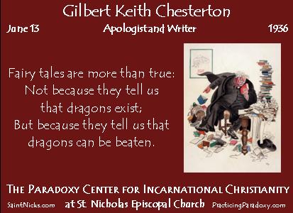 June 12 - G. K. Chesterton