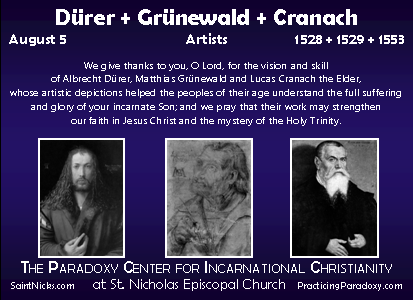 Illumination - Dürer + Grünewald + Cranach
