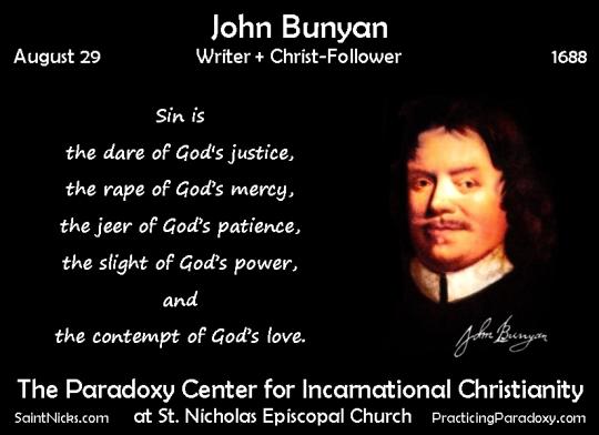 Aug 29 - John Bunyan