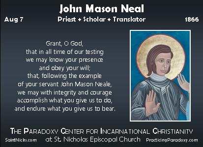 John Mason Neale Quotes Illumination John Mason Neal
