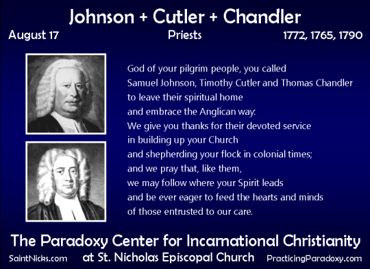 Aug 17 - Johnson, Cutler, & Chandler