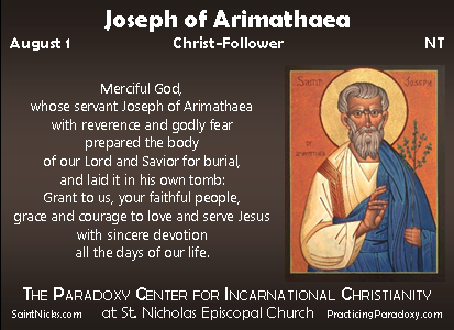 Illumination - Joseph of Arimathaea