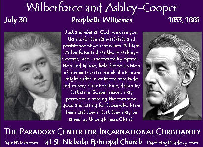 July 30 - Wilberforce & Cooper