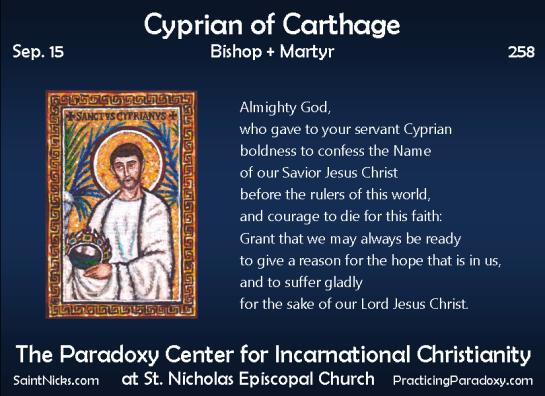 Illumination - Cyprian of Carthage