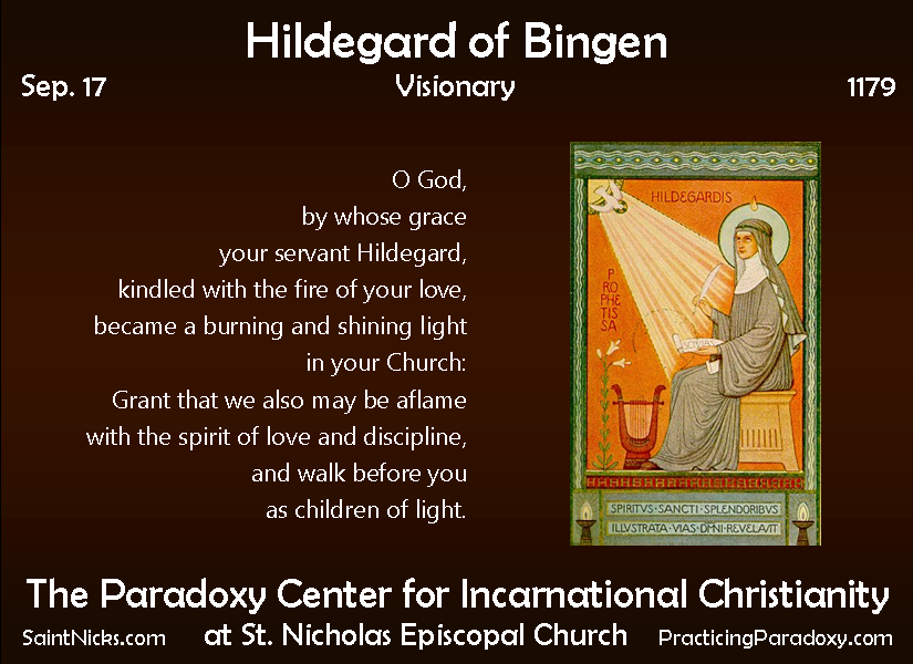 hildegard bingen book essays Free and custom essays at essaypediacom take a look at written paper - hildegard of bingen.