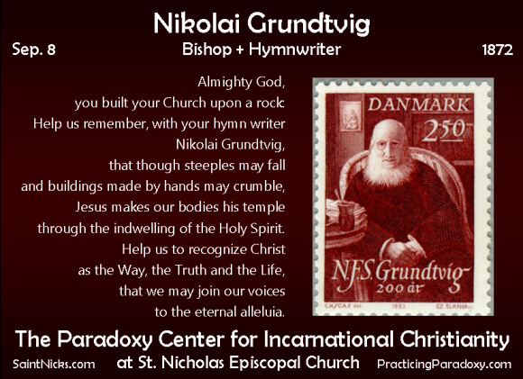 Sep 8 - Nikolai Grundtvig