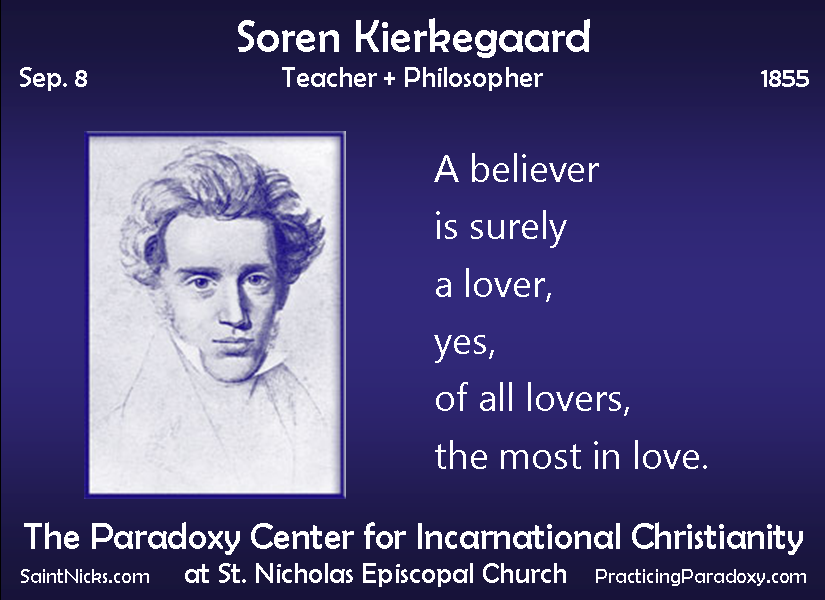 an essay on soren kierkegaard the father of existentialism 2018-8-21  faith and reason: kierkegaard's  with the work of the 19th-century danish philosopher soren kierkegaard,  to be the father of existentialism,.