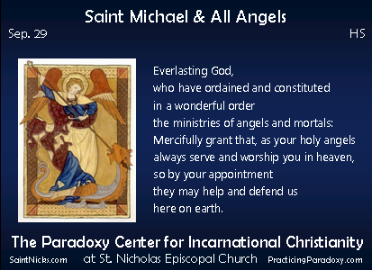 Sep 29 - Saint Michael & All Angels