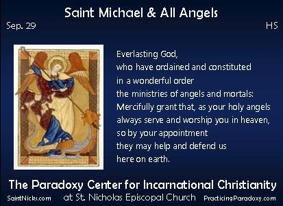 Sep 29 - Saint Michael & All Angels