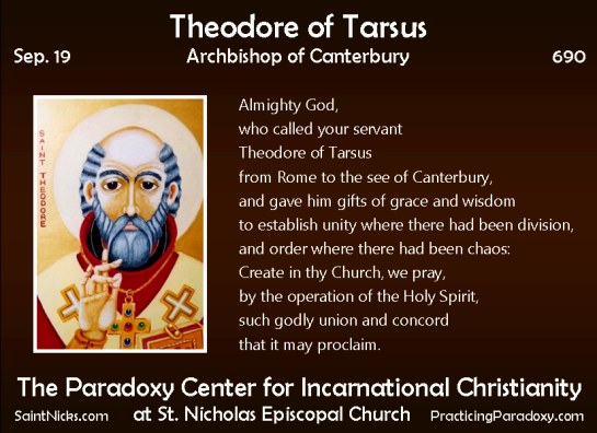 Illumination - Theodore of Tarsus