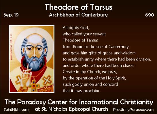 Illumination - Theodore of Tarsus