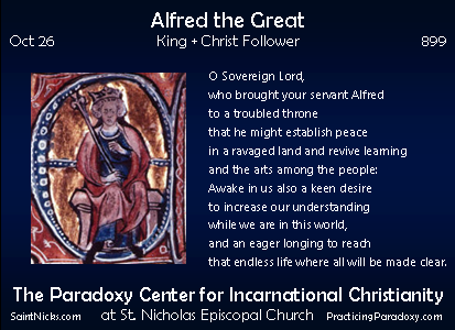 Oct 26 - Alfred the Great