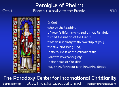 Oct 1 - Remigius of Rheims