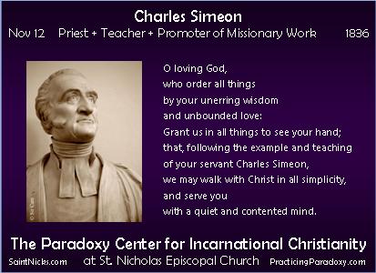 Nov 12 - Charles Simeon