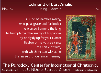 Edmund of East Anglia