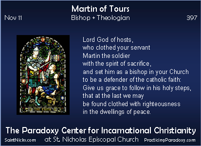 Nov 11 - Martin of Tours