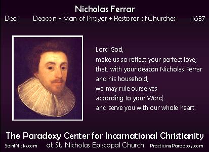 Dec 1 - Nicholas Ferrar