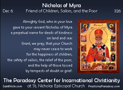 Dec 6 - Nicholas of Myra