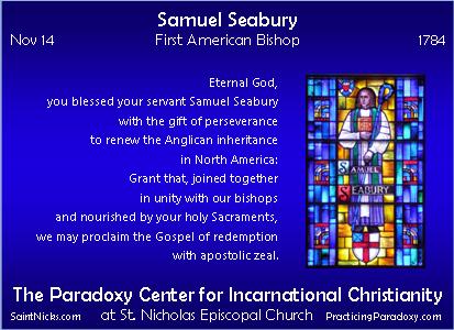 Nov 14 - Samuel Seabury