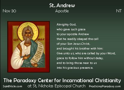 Nov 30 - St. Andrew