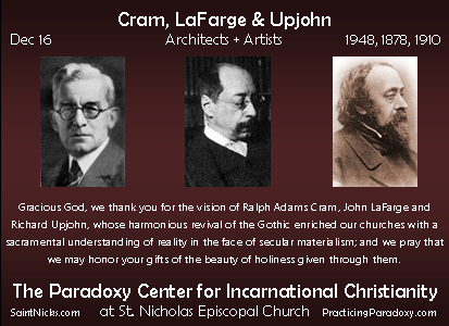 Dec 16 - Cram, LeFarge, Upjohn