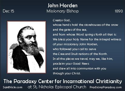 Dec 15 - John Horden