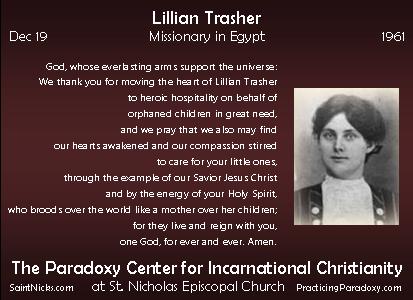 Dec 19 - Lillian Trasher