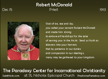 Dec 15 - Robert McDonald