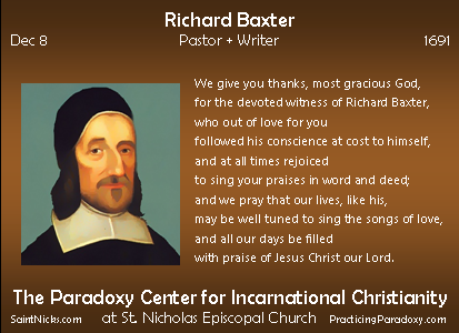Dec 8 - Richard Baxter