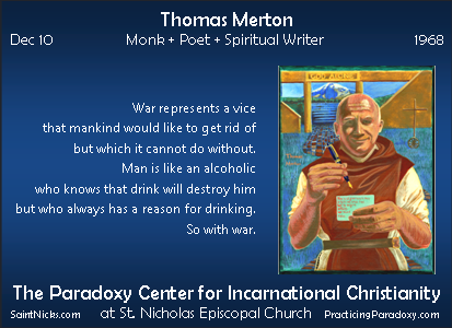 Dec 10 - Thomas Merton