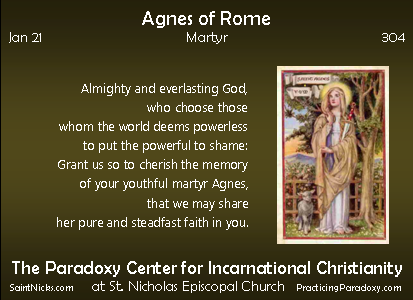 Jan 21 - Agnes of Rome