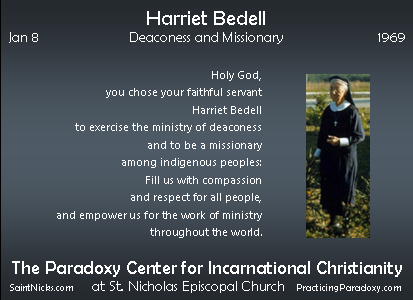 Jan 8 - Harriet Bedell