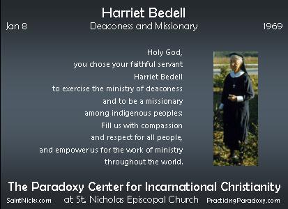 Jan 8 - Harriet Bedell