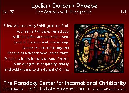 Jan 17 - Lydia + Dorcas + Phoebe