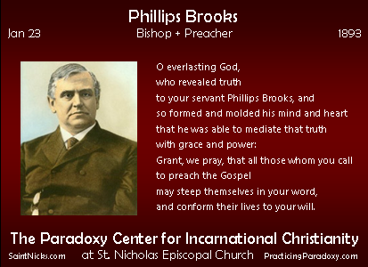 Jan 23 - Phillips Brooks