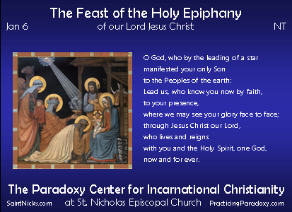Jan 6 - The Epiphany