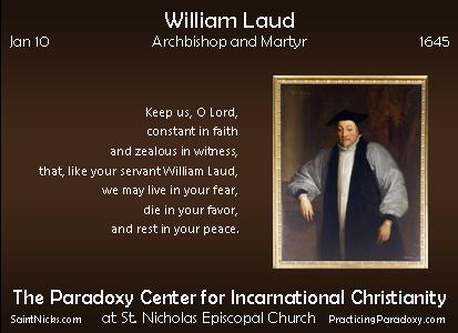 Jan 10 - William Laud