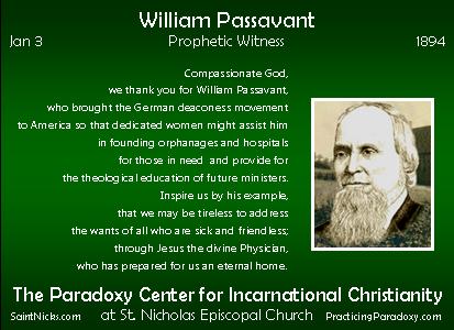 Jan 3 - William Passavant