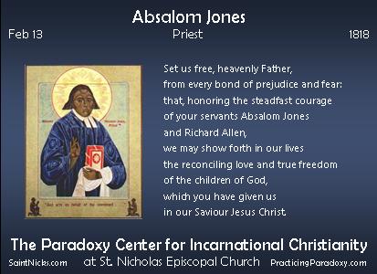 Feb 13 - Absalom Jones