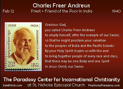Feb 12 - Charles Andrews