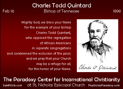 Feb 16 - Charles Quintard