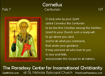 Feb 7 - Cornelius