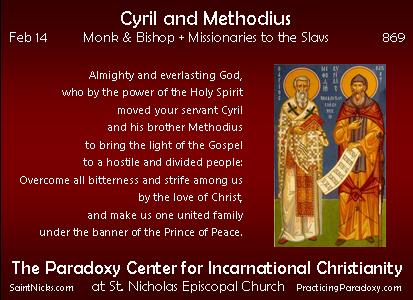 Illumination - Cyril and Methodius