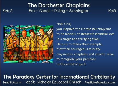 Feb 3 - The Dorchester Chaplains
