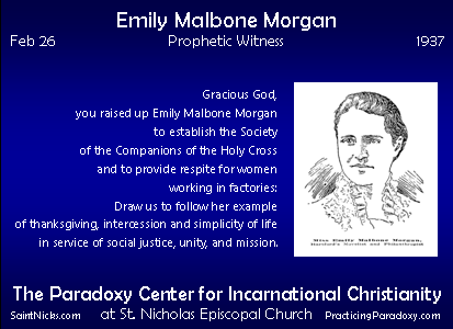 Feb 26 - Emily Malbone Morgan